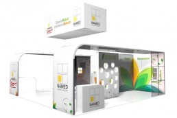 NAMED - Progetto stand a Cosmopharma 2013